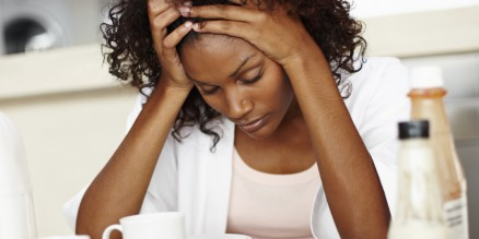 black woman stress